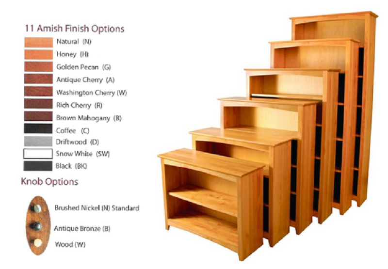 Archbold bookcases